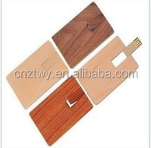 lowest price credit card usb flash drive wood usb flash drive with custom logo oem usb 2.0 4gb 8gb 16gb