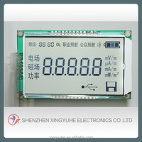 Xingyuhe transparent clear screen lcd module low power display