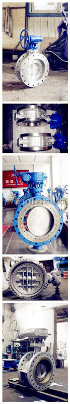 Flange Type Metal Seal Butterfly Valve for sea water