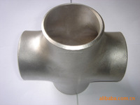 carbon steel Equal welded galvanized cross, pipe fittings galvanized cross