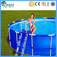 China Manufacturer Above Ground Plastic Metal Frame Sex Girls Swimming Pool