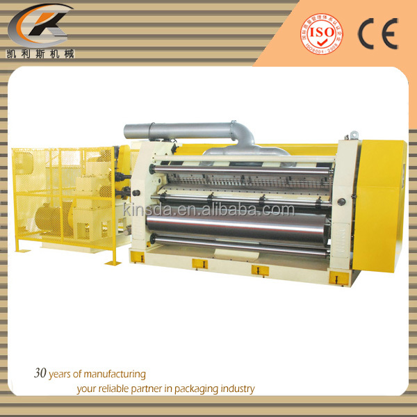 corrugated mounting machine