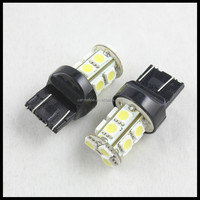 LED T20 Auto Car Brake Rear Stop Light Bulb Lamp double wire WY21W W21/5W 7443 T20 13SMD 5050 Lighting