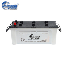 12V 120Ah N120 Dry Charged Car Battery For Sale