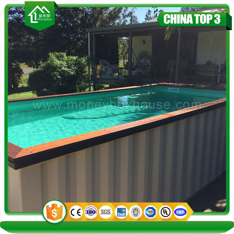 Mobile Container Swimming Pool Design,Fiberglass Shipping Container with UV-Anti