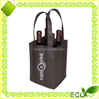 Non woven recycled plastic bottle tote bag