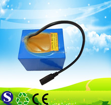 LiFePO4 26650 12v 21Ah li-ion battery pack