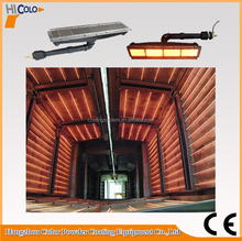 powder coating infrared gas heater for drying curing oven