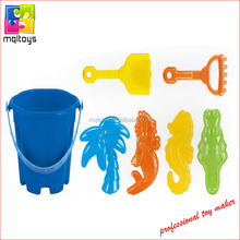 Happy time plastic bucket package outdoor beach sand toy