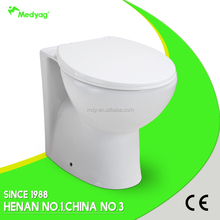 UK back to wall toilet sanitary ware back to wall toilet pan/wc toilet/ceramic toilets