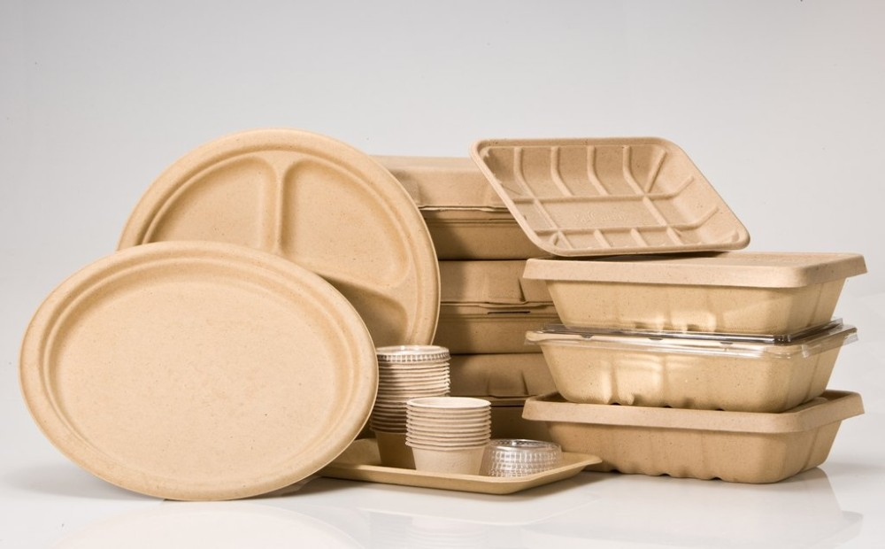 Custom made Pollution-free & 100% recycled food grade disposable plate