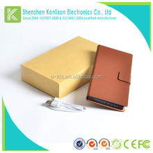 KC certification 8000mAh mobile power bank for tiger brand