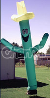Mini Green Cactus Senor Inflatable Wind Air Dancer with Blower