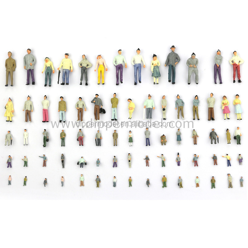 1:75 1:100 1:150 1:200 1:300 scales plastic color painted exquisite architectural model and train model figures