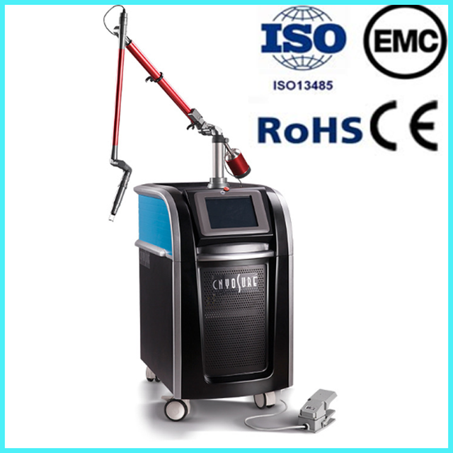 Multifunction aser tattoo removal machine/cosmetic tattoo pigment