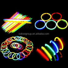 glow stick for party/Making Glow Bracelet, Necklace, Mix Neon Color/glow stick for christmas day
