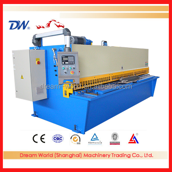 Metal Cutting Machine ms plate cut sheet machine qc12y hydraulic shearing machine