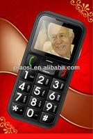 Used Unlocked big button sos seniors cell phone dual sim bluetooth quad band phone