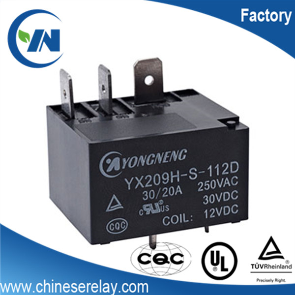 Manufacturer SPDT general purpose electrical protective refrigerator ptc relay 12v 8pin 30a SLI-S-112D relays for HVAC