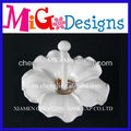 Manufacture direct plain white ring holder Ceramic Ring Holder