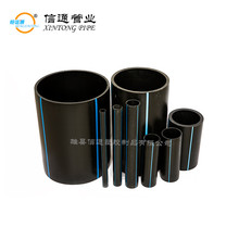 custom dn32-1200mm full form reliance used hdpe pe pe100 plastic Polyethylene underground water supply pipe price list for sale