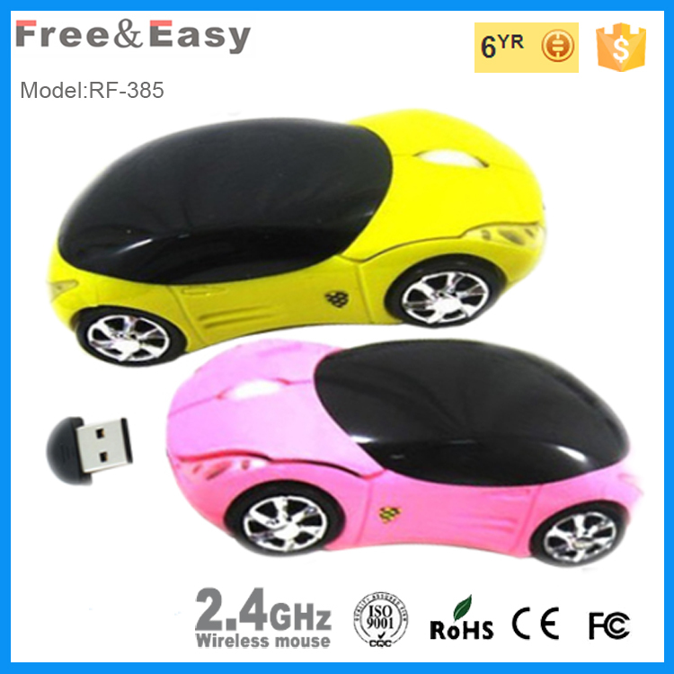 Toy gift remote control car shape optical protable mouse