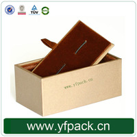 Wholesale Cheap Cardboard Cufflink Box