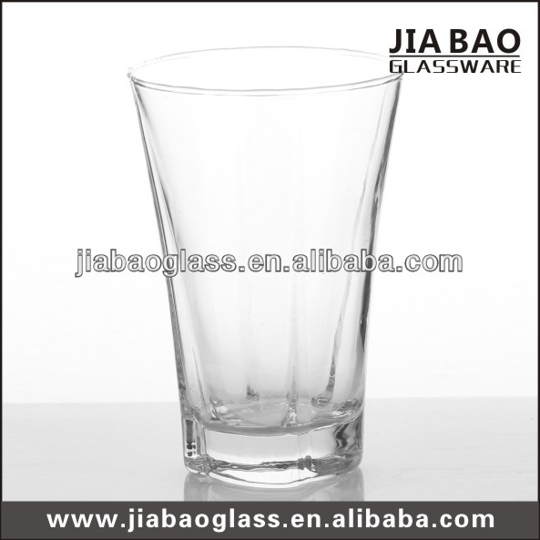 Wholesale cheap 200ml machine blown glass cup juice drinking tableware long drinking glass cup