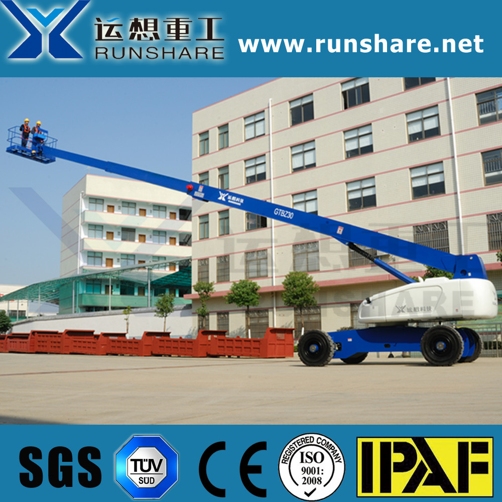 Runshare 30m self-propelled telescopic boom lift
