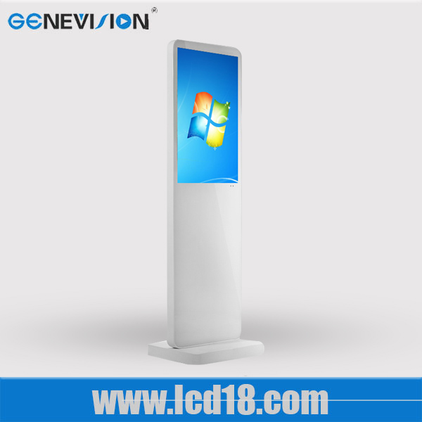 21.5 inch landscape internet advertising display Windows system shopping mall advertising touch screen kiosk