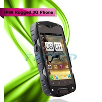 Z6 IP68 Waterproof 4.0 Inch IPS Screen Dual SIM WIFI GPS 5.0MP Camera cell phones WCDMA 3G Rugged Smart Phone