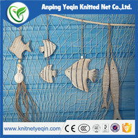 Nylon colorful fishing net with factory price hot sell in china