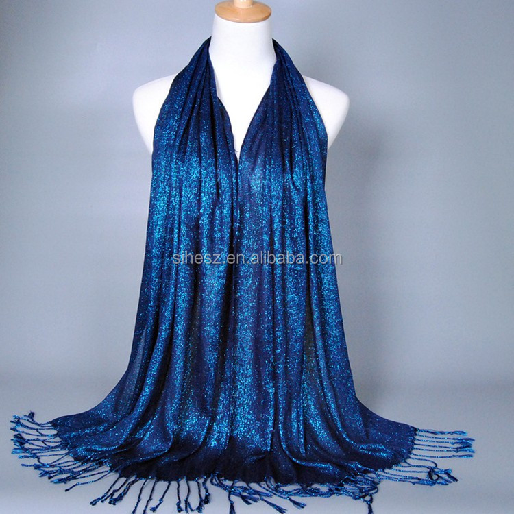 dark blue color cotton jersey scarf instant ready to wear hijab and shawls