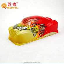 OEM plastic pvc rc car body vacuum forming toy car shell