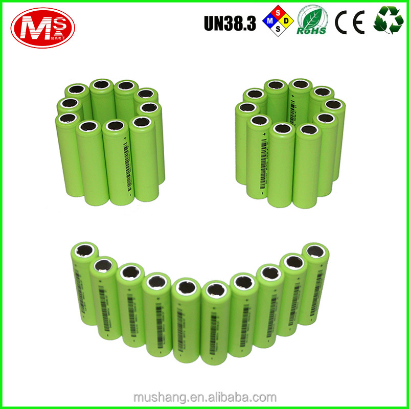 high quality 18650 battery 3.7V 20Ah li-ion battery cell battery pack for Electric Vehicle