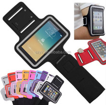 Hot Sale For iPhone Armband With Key Holder Credit Card Pouch Case For iPhone 6 5S 5C 5