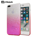 Gradient color pc case for iphone 7 plus,shining aurora mosaic case for iphone 7 plus
