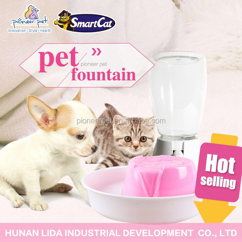 Pet Fountain Filtered Water for Cat, Dog