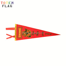 Cheap Customized Printing Promotional Felt Pennants