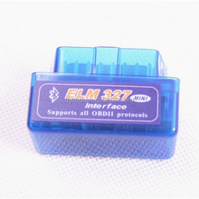 2016 New Product SUPER MINI ELM327 Bluetooth OBD2 V1.5 White Smart Car Diagnostic Interface ELM 327 Wireless Scan Tool interface