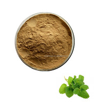 ISO9001 factory supply Melissa Officinalis Extract Lemon Balm Extract 10:1 Fragrance Perfume anxiolytic,improve mood