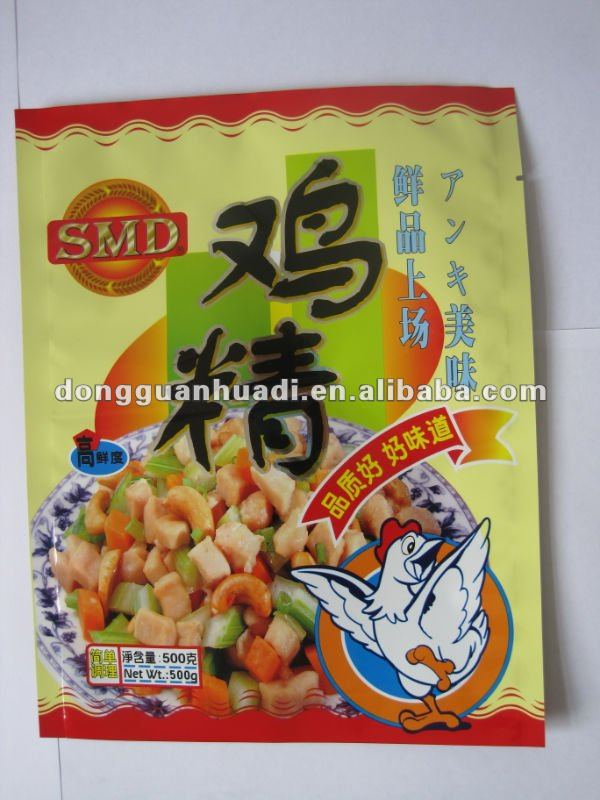 Chicken essence packing bag