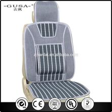 Car mesh backrest lumbar back support seat cushion foldable for wholesales