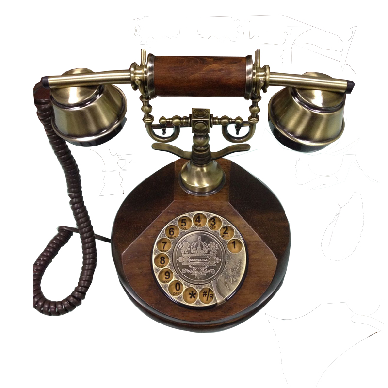 Fancy home corded hotel decorative reproduction antique imitation telephone