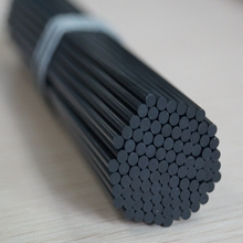 5mm 8mm 10mm 12mm china wholesale surface glossy solid carbon fiber rod with the best price for kit