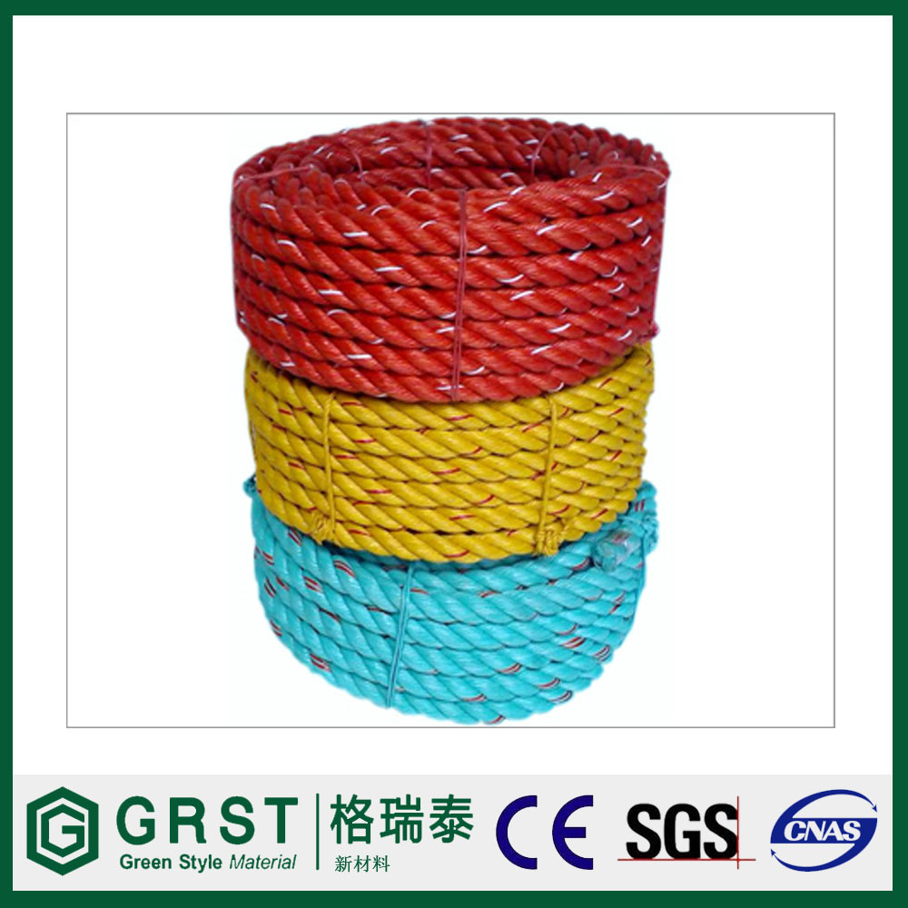 100% polypropylene cord, pp cord, pp multifilament solid braid rope 6 mm