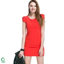D322 China Fashion Office Women Wear Bodycon Short Dresses Manufacturer