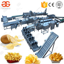 Fully Automatic Fresh Potato Chips Making Machine Price For Factory