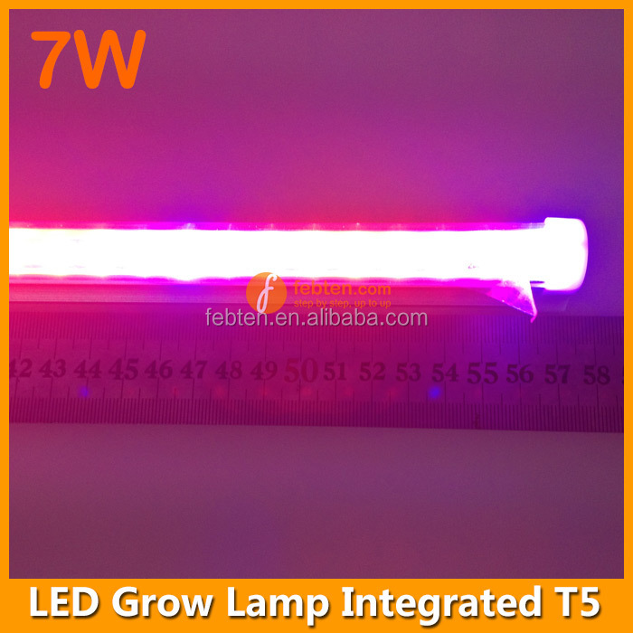 High brightness Low power consumption 600mm T5 led light AC85-265V t5 led tube grow