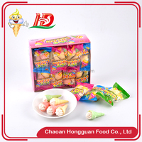 Ice cream child sweet low price wholesale marshmallow pops candy